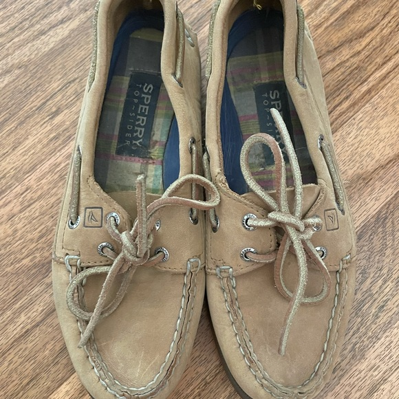 Leather Sperry Topsider